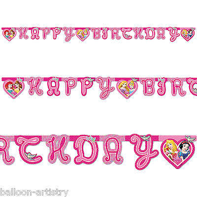 Princess Happy Birthday Diecut Banner