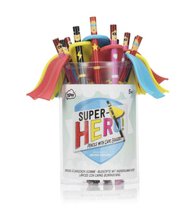 Superhero Pencils (12 per CDU)