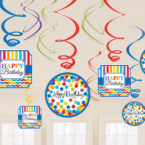 Bright Birthday Value Pack Swirl