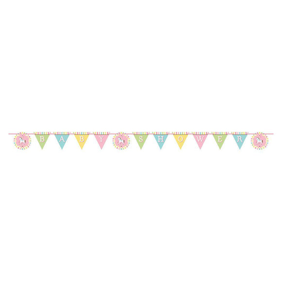 Carousel Ribbon shaped banner