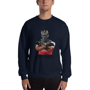 Auba Black Mask Sweatshirt