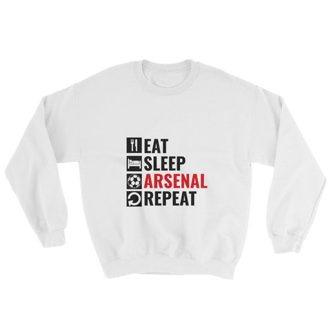 Eat Sleep Repeat Sweatshirt