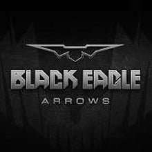 Black Eagle Outlaw Fletched Crested Arrows  -  6 Pack