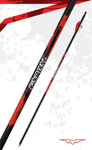 Black Eagle Carnivore Fletched Arrows  -  6 Pack