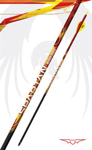 Black Eagle Spartan Fletched Arrows  -  6 Pack