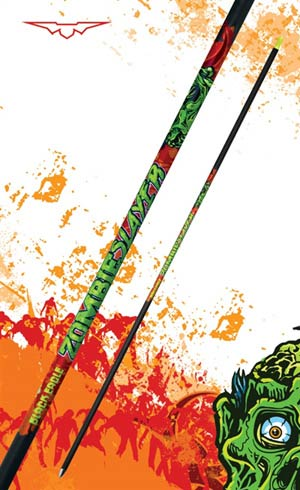 Zombie Slayer Arrow Shafts   12 pack