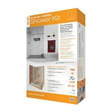 "SCHLUTER KERDI SHOWER KIT CENTRAL OFF-SET 32""X60"" 5% ONLINE CASHBACK"