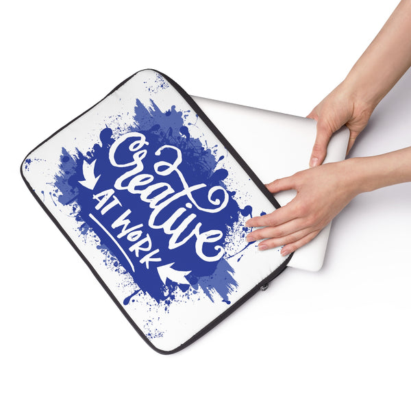 Creative at Work Navy Blue Laptop Sleeve