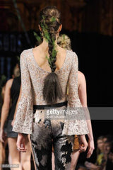 Madeline Stuart maddie Down's syndrome 21 reasons why snake New York fashion week