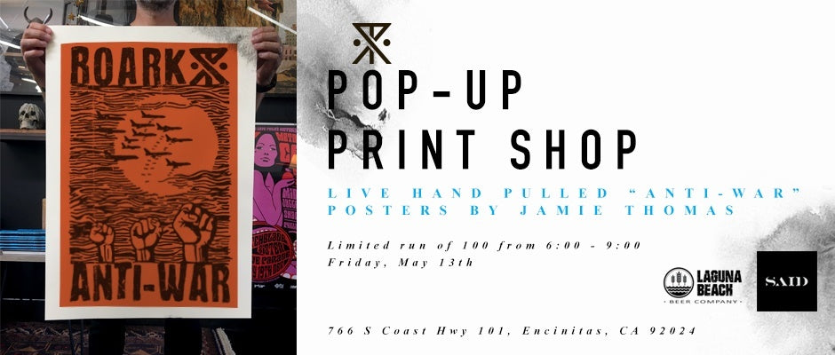 POP-UP PRINT SHOP!