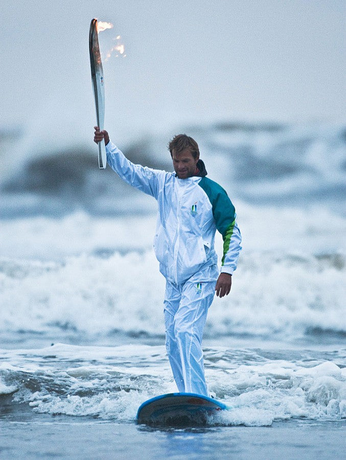 SURFING IN THE OLYMPICS