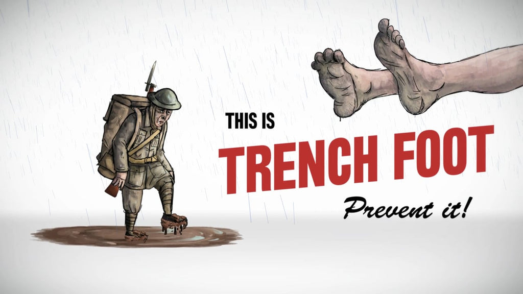 TRENCH FOOT: HOW TO SAVE YOUR FEET IN A FLOOD