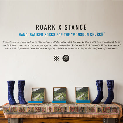 ROARK X STANCE LIMITED EDITION SOCK PARTY!