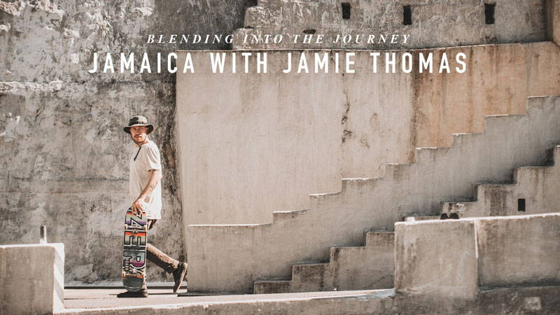 Blending into the journey: Jamaica with Jamie Thomas