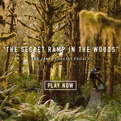 """THE SECRET RAMP IN THE WOODS"" – THE JAMIE COLLINS LEGACY!"