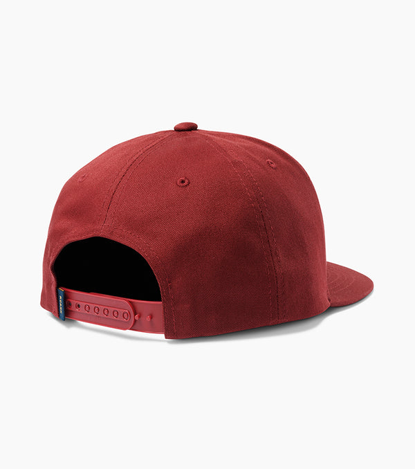 Waywards Snapback Hat Burgundy size ONE 14407513145415