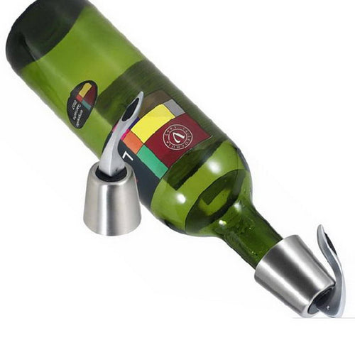 High Finish 3-in-1 Wine Pourer, Aerator and Shutoff Stopper