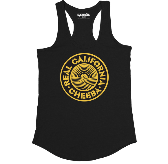 Real California Racerback - Black