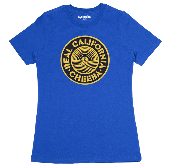 Cheeba Crew Tee - Royal
