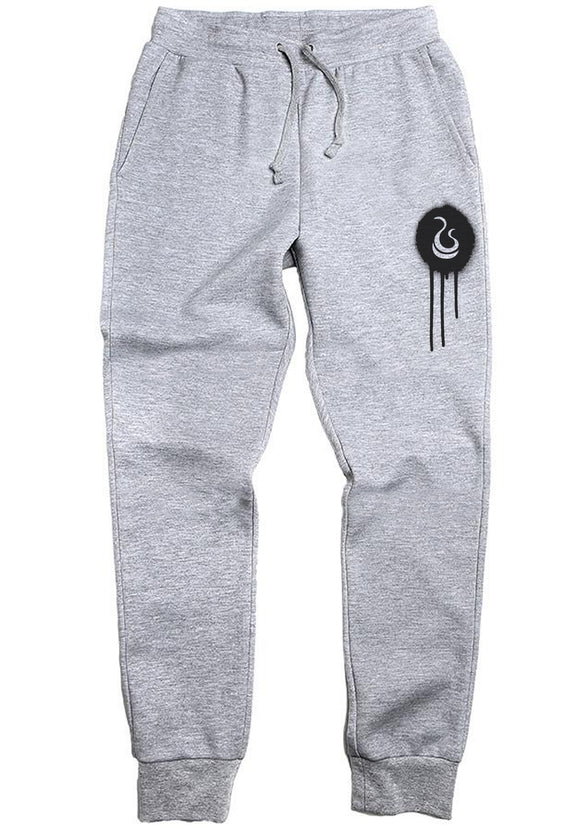 Fatbol Classic Joggers - Carbon Heather