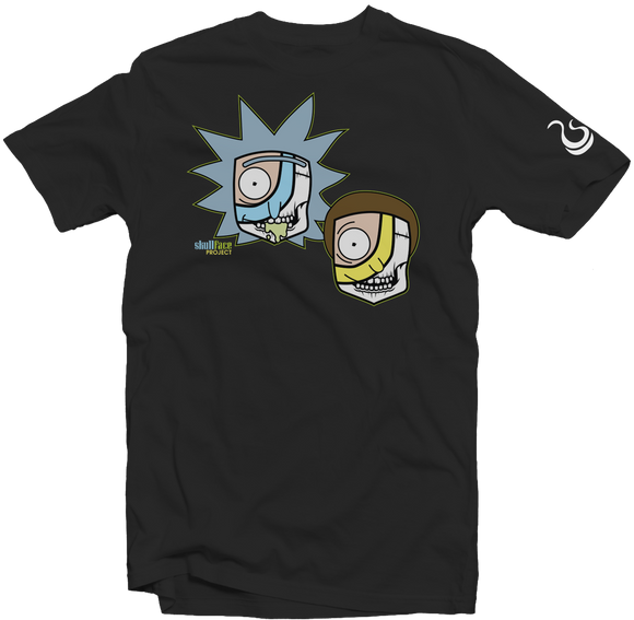 Rick and Morty Skullface Tee Shirt - fatbol