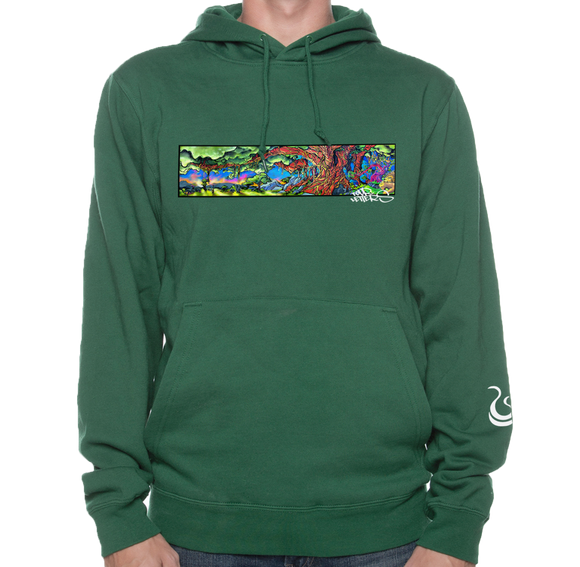 Tree of Life Pullover - Forest