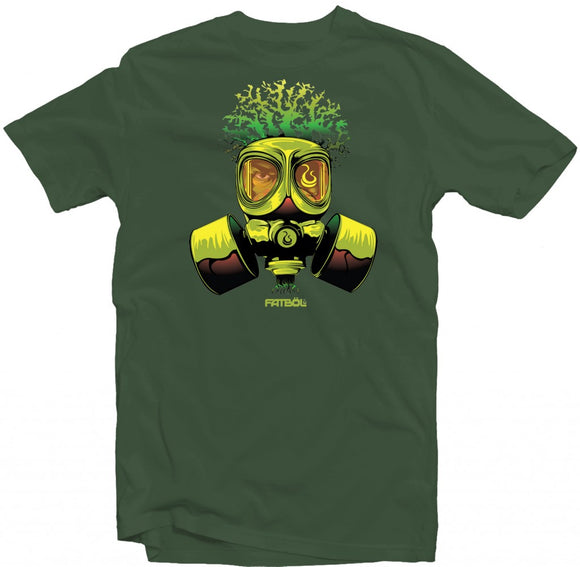 Men's Forest Green Fatbol Crew Neck Tee