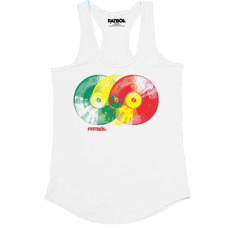 In Rotation Racerback - White