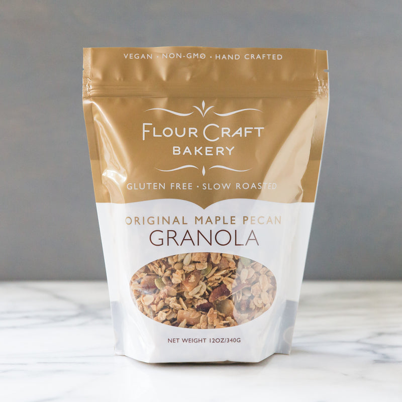 Maple and Pecan Granola (Gluten Free)