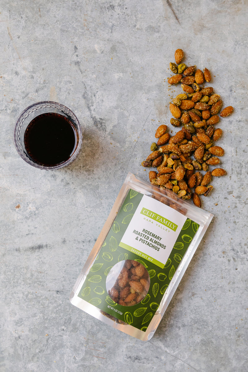 Roasted Almonds + Pistachios