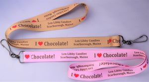 Lanyard, I Love Chocolate