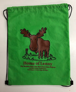 Lenny the Moose Draw String Back Pack