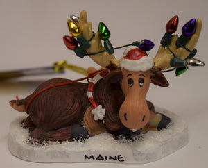 Mischievous Moose Ornaments