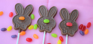 Whiskers Bunny Pop, Milk Chocolate