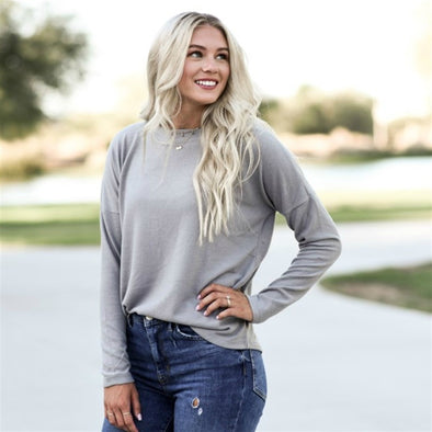 3Brunettes Classic Brushed Tunic
