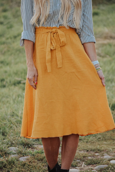 Classic Front Tie Skirt
