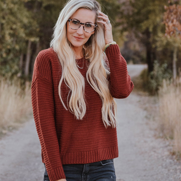 3Brunettes Cozy Ribbed Sweater
