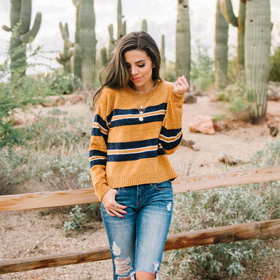 Cozy Stripe Sweater