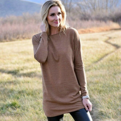 3Brunettes Favorite Winter Tunic