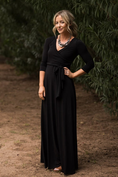 Luxury Wrap Maxi