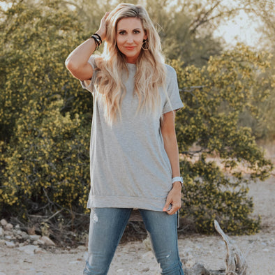 3Brunettes Perfect Crew Neck Tunic