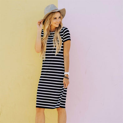3Brunettes Perfect Stripe Midi