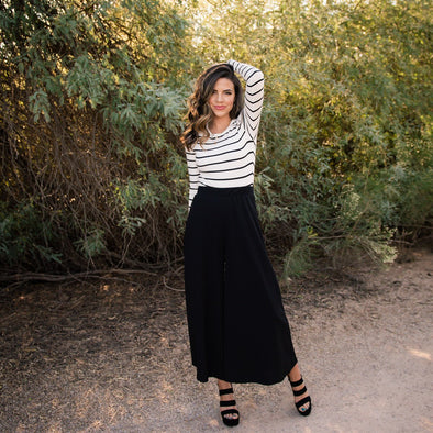 3Brunettes Wide Leg Winter Pant