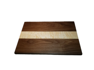Black Walnut with quilted Eastern Maple