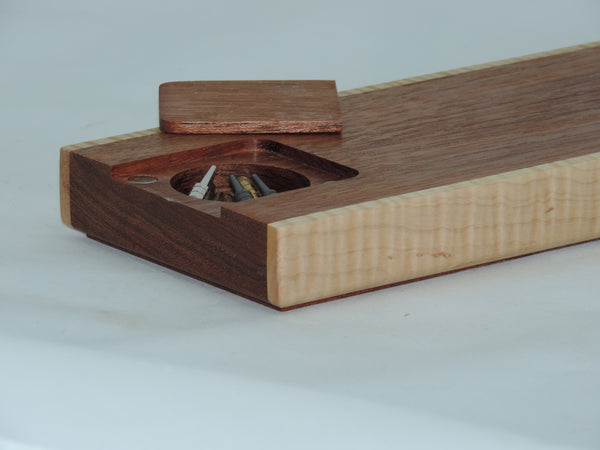 Crib board - Brazilian Cherry, Eastern Flame Maple