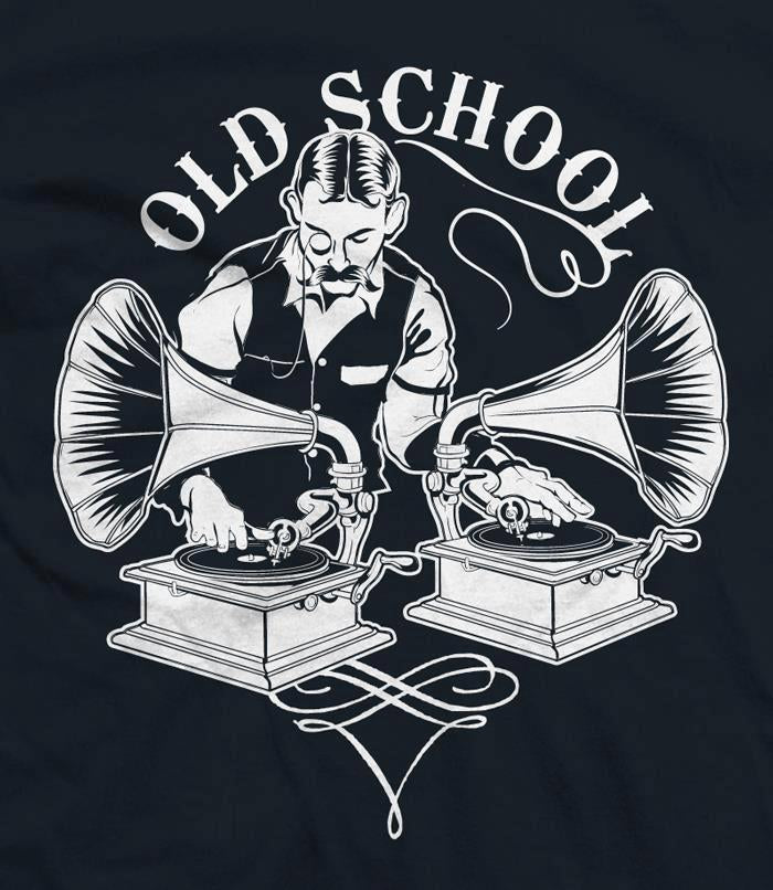 Old School DJ Tshirt
