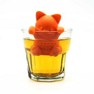 Cute Orange Kitty Tea Infuser