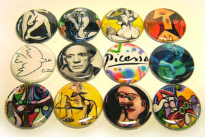 PABLO PICASSO Buttons