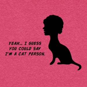 Cat Person Funny T-Shirt