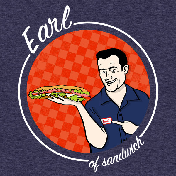 Earl of Sandwich Funny T-Shirt